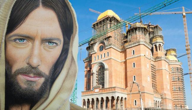 Ce ISU? Catedrala nu are autorizație nici de la Isus!