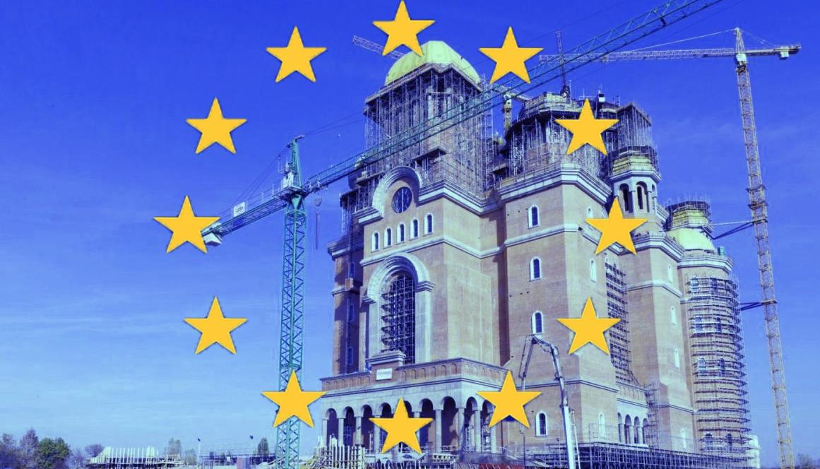 UE ne cere să mai facem o catedrală dacă vrem în Schengen, ca Bulgaria!
