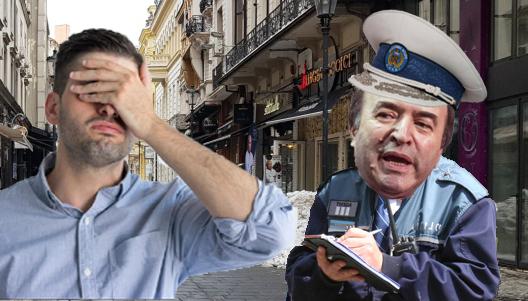 """Român amendat pentru tulburarea liniștii publice fiindcăa strigat """"Hoții!"""" în timp ce era jefuit!"""