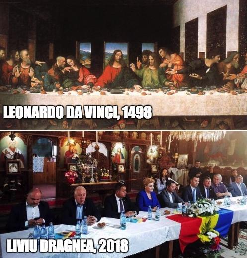 Leonardo da Vinci vs Liviu da Videle