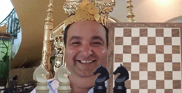 Casa regală Cioabă a inventat jocul de șah unde câștigă cine fură caii!