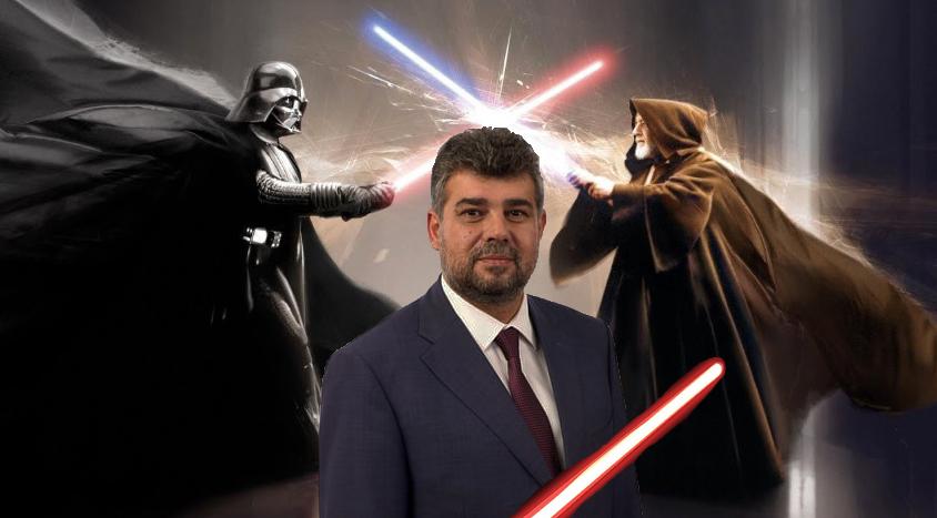 Ciolacu şi-a scos şi certificat de luptător în Războiul stelelor!