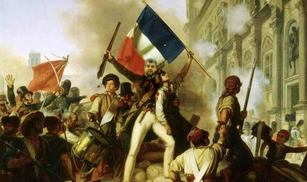 Revoluționarul profesionist Marcel Ciolacu, surprins în timpul Revoluției franceze din 1789!