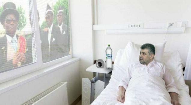 Marcel Ciolacu a ajuns azi din nou la spital!