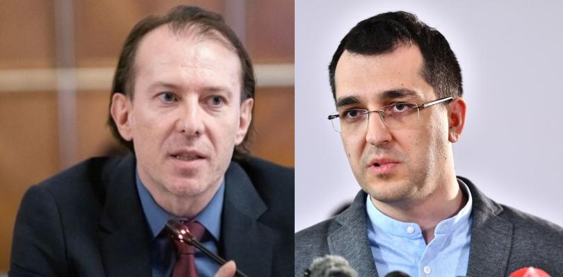 """Cîțu îi cere demisia lui Vlad Voiculescu, încurajat de rezultatul sondajului Antenei 3 cu întrebarea""""Mai aveți încredere în Vlad Voiculescu?"""""""