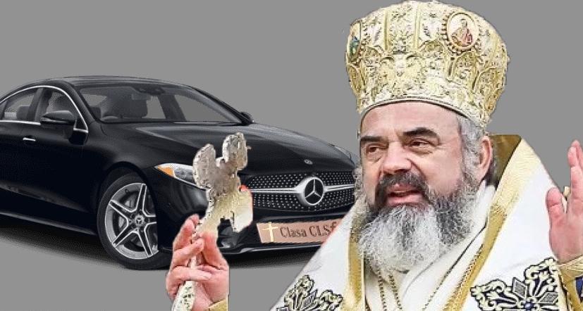 Mercedes scoate un CLS special pentru Daniel: Mercedes CLSfinte!