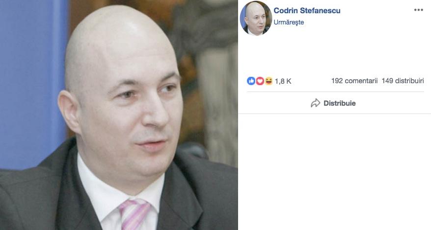 Codrin Ștefănescu, raportat pentru nuditate din cauza pozei de profil!
