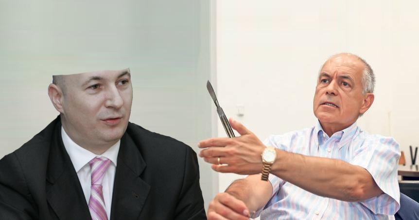 Din cauza unei confuzii, Ciomu i-a retezat lui Codrin Ștefănescu juma' din cap!
