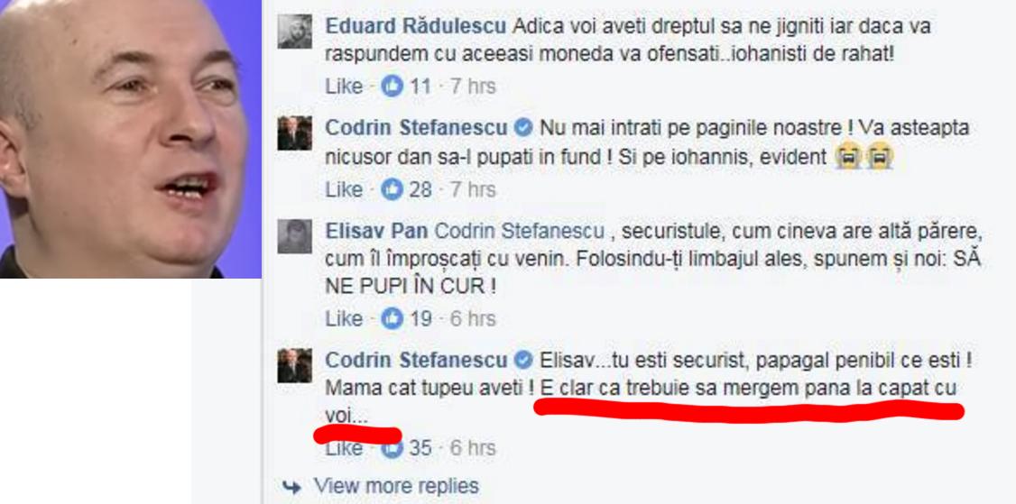 Cum îi amenința Codrin Ștefănescu pe protestatari ca un interlop din clanul Duduianu