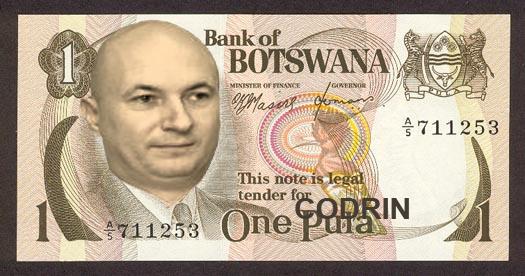 Noua monedă națională a Botswanei va fi Codrinul!