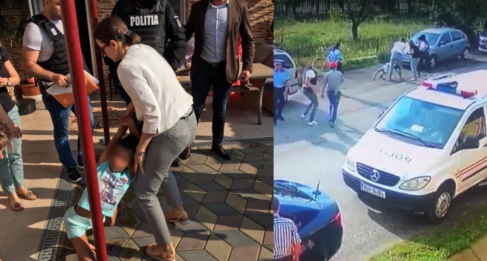 Când trebuie să prindeți un urmărit general, trimiteți doi polițiști cu praștia.Când e vorba de un copil de 8 ani, trimiteți 10 mascați!