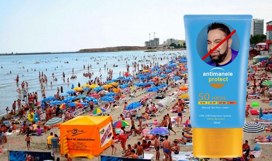 Pe lângă crema antisolară, pe litoralul românesc a apărut și crema antimanele!
