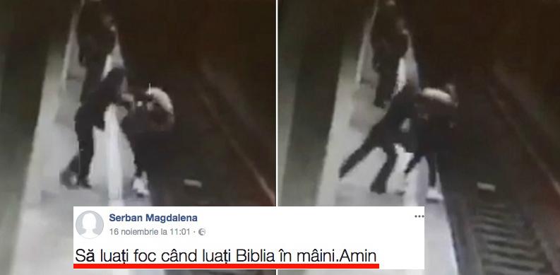 România, țara unde psihopații sunt lăsați pe stradă, la metrou sau la volan