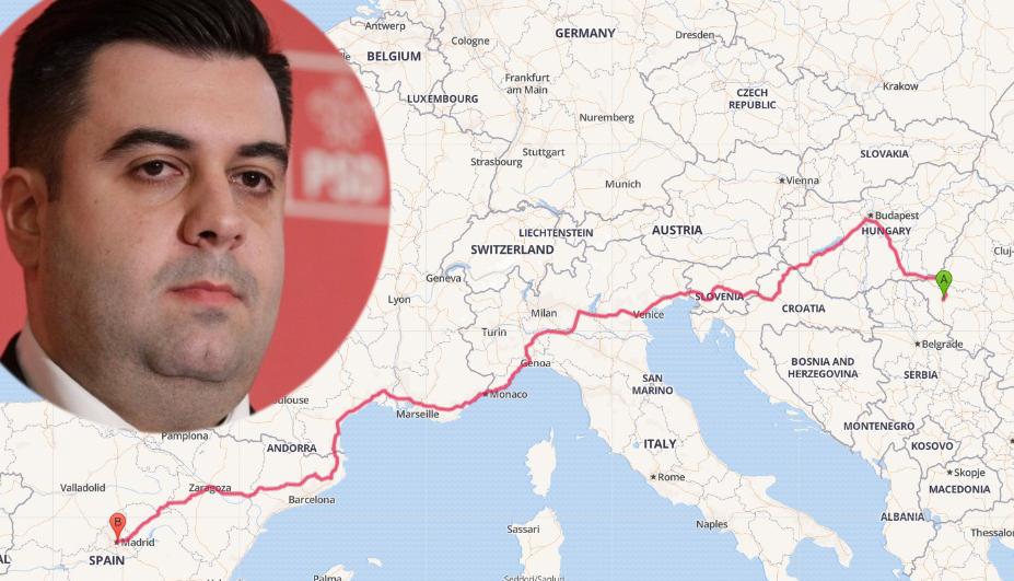 """Ministrul Transporturilor: """"Vom inaugura 2.800 de kilometri de autostradă care leagă Timișoara de Madrid!Sunt gata!"""""""