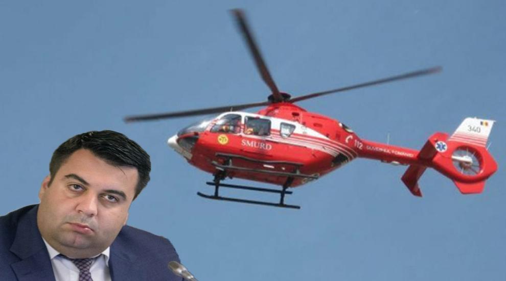 Țineți avioanele Taromla sol şi trimitețielicopterele SMURD la Cuc, că e căcat pe el!