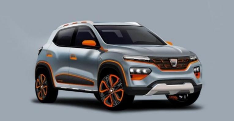 Dacia şi-a lansatazi modelulelectric!Cică dacă îi pui magneți pe kilometraj, nu consumă nimic!