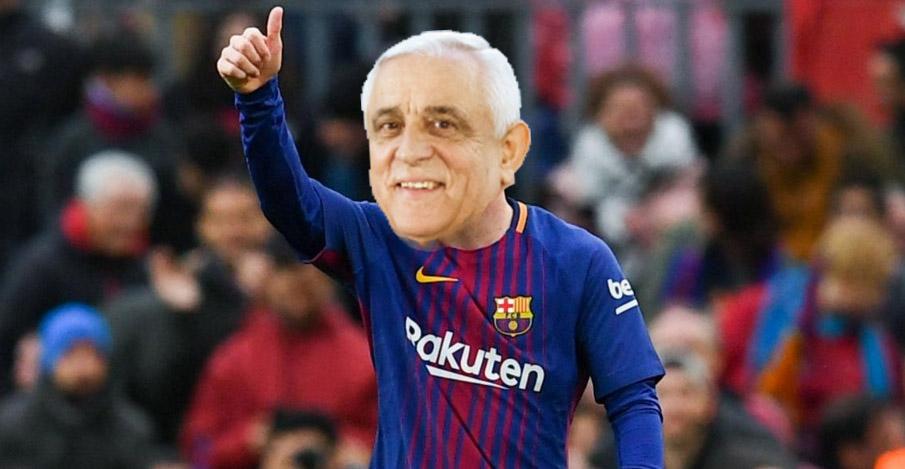Barcelona vrea să-l transfere pe Daea pentru returul cu cormoranii!