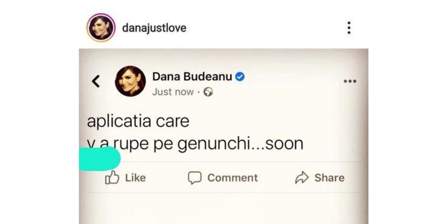 Dana Budeanu, agramata care vă rupe pe genunche!