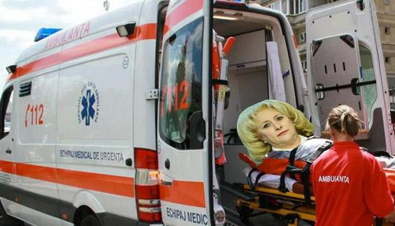 Ambulanța, chemată la Guvern! Viorica a uitat să respire și a leșinat!