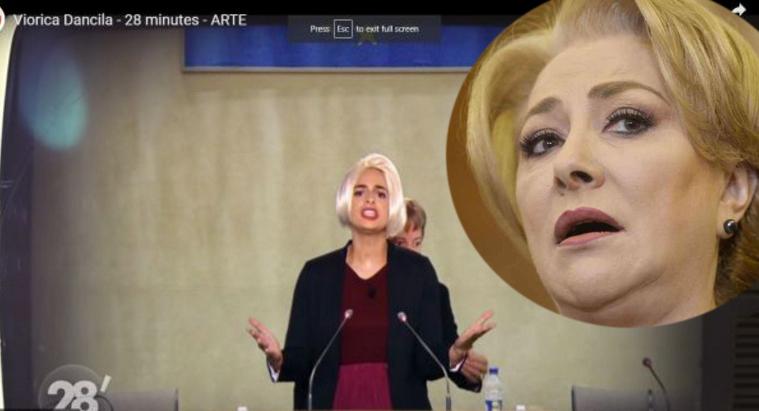 """Viorica critică satira francezilorde la ARTE: """"Ce ARTE e alea?ARTE e când pictezi!"""""""
