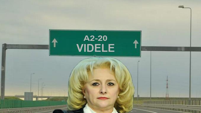 Prima autostradă pe care o va face Viorica va fi A20-20 București-Videle!