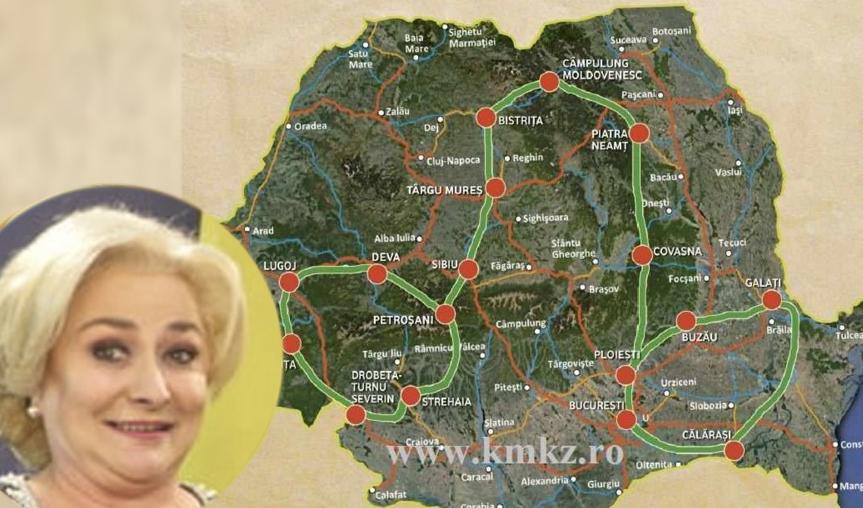 Viorica prezintă cum vor arăta cei 100 km de autostradă pe care îi va construi până la sfârșitul anului!