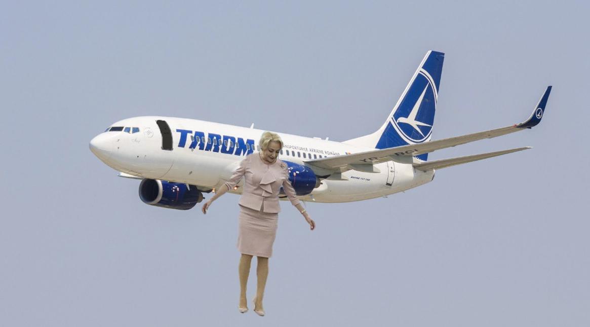 Vești bune de la Madrid: Avionul a ajuns fără Viorica! Aceasta ar fi coborât între stații!