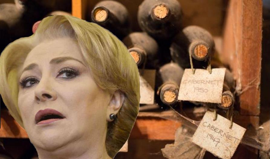 Viorica a făcut scandal la cramă fiindcă vinurile erau vechi!