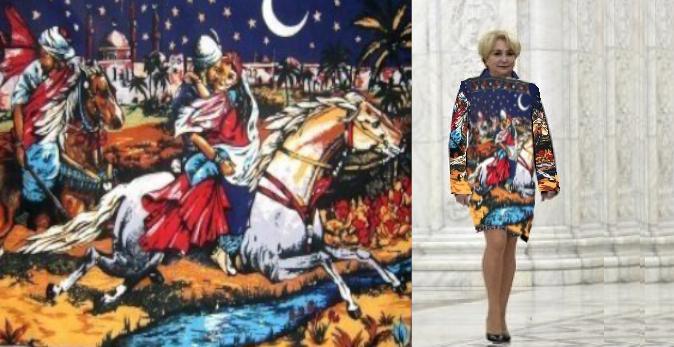 Bravo, are stil: Viorica în rochie cu Răpirea din serai!