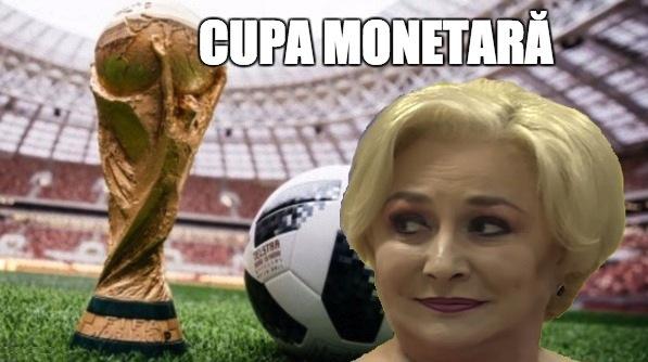 În semn de omagiu pentru Viorica, Cupa Mondială se va numi Cupa Monetară!