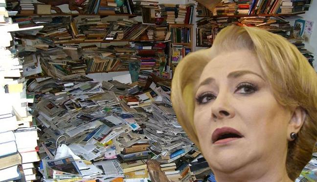 Cele 1200 de dicționare și gramatici cumpărate de Viorica pentru Guvern s-au sinucis după ce și-au dat seama unde au ajuns!