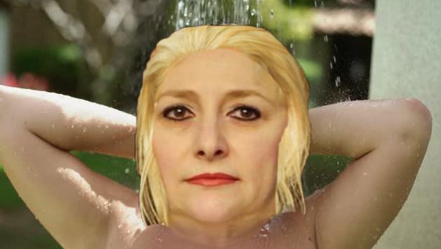 """Imediat după ce își face duș, Viorica mai este cunoscută și sub denumirea de """"prostie curată""""!"""