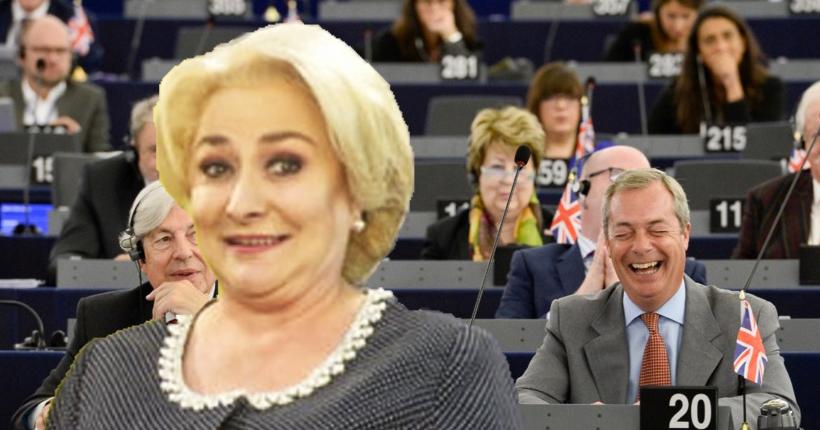 Şoc în Parlamentul European: Viorica a recomandat un exit uşor, bazat pe laxative naturale!