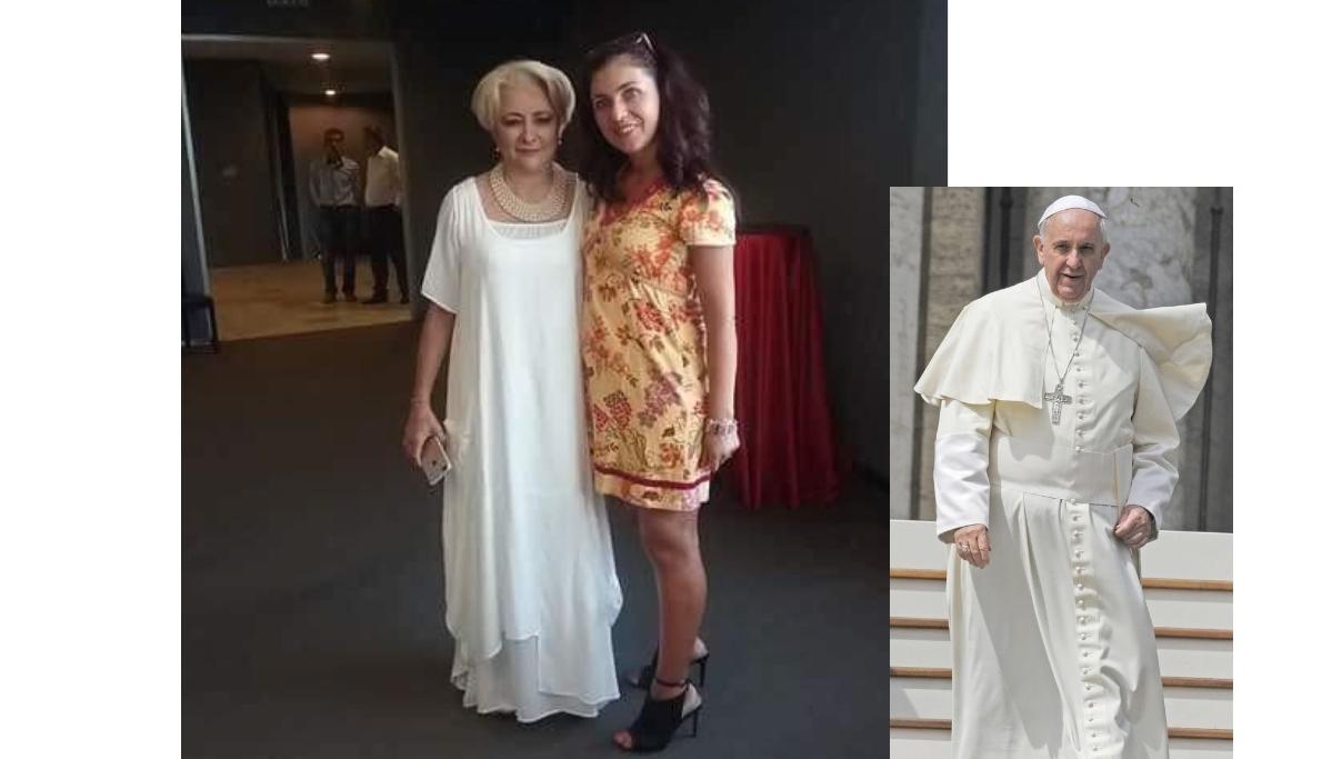 Sanctitatea Sa Veorica a început să se îmbrace ca Papa!