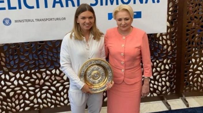 Veorica i-a cerut Simonei farfuria de la Wimbledon ca să-i facă o salată de roșii!