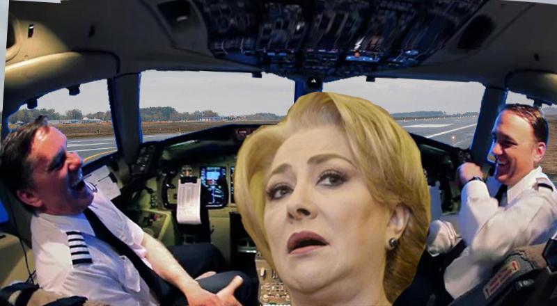 Incident într-un avion Tarom: Veorica a vrut să cumpere bilet de la șofer!