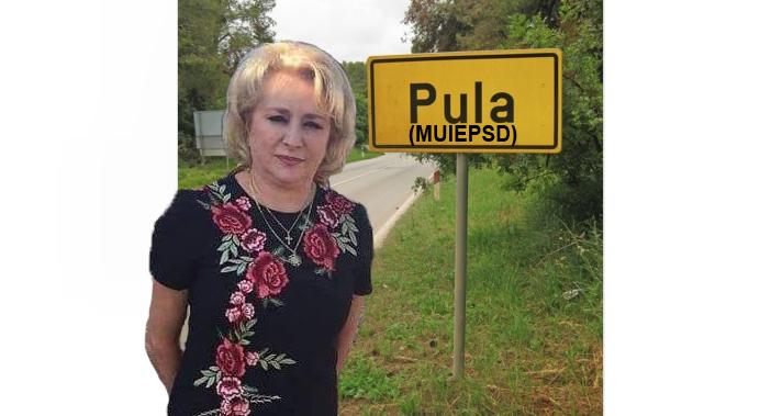 """Veorica în concediu: """"La Pula, m-au întâmpinat cu tradiționalul M_IEPSD, adică """"Bine ați venit!"""""""""""