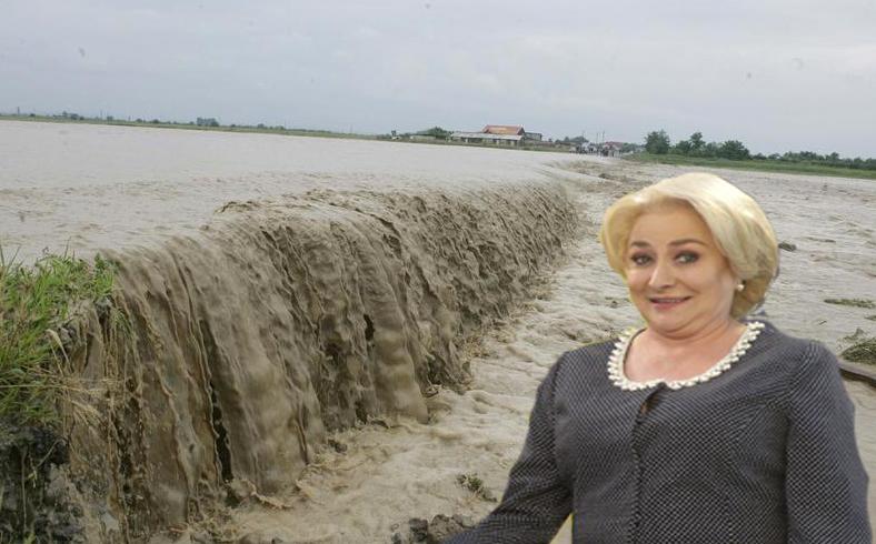 """Viorica: """"Am combătut inundațiile prin irigații!"""""""