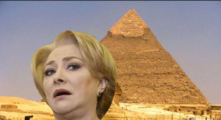 """Viorica critică autoritățile egiptene cu nu au grijă depiramide: """"A căzut tencuiala dupe ele!"""""""