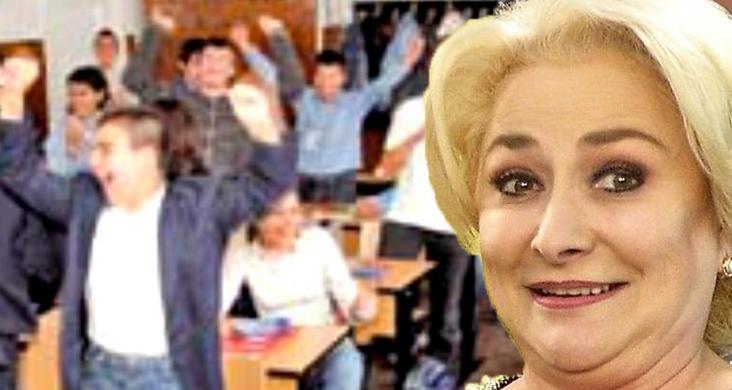 Avem viitorul asigurat! Într-un liceu din Videle au fost descoperiți 27 de analfabeți -exact câți miniștri are Guvernul României!