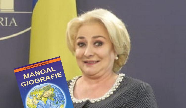 În noul manual de Geografie editat de PSD, în loc de București scrie Budapesta!
