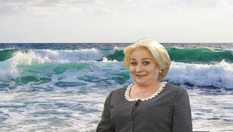 Alertă: Viorica vrea să irige Marea Neagră!