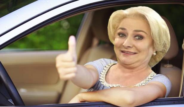 Viorica și-a luat mașină electrică pe benzină!