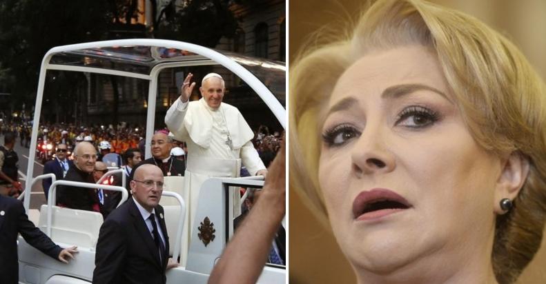 """Veorica s-a supărat pe Papa: """"L-am sunat pe papamobil și nu mi-a răspuns!"""""""