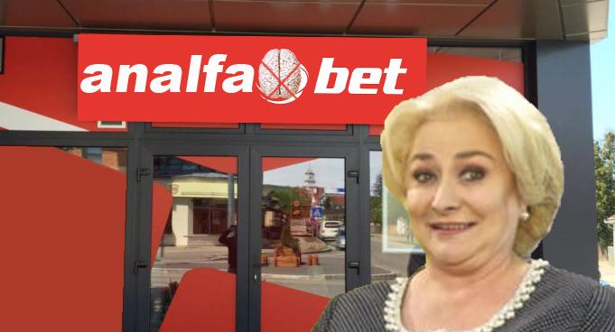 Viorica și-a deschis casă de pariuri sportive: AnalfaBet