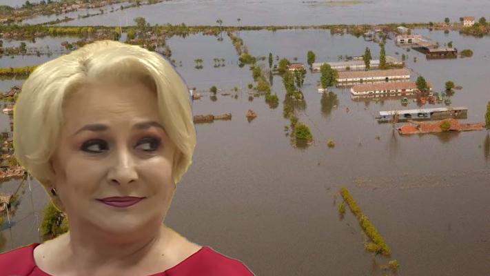 """Viorica: """"Mă rog la Dumnezeu să ne dea un potop pentru combaterea inundațiilor!"""""""