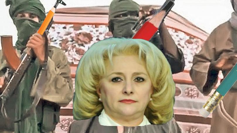 Organizația teroristă Al-Fabet a răpit-o și pe Viorica!