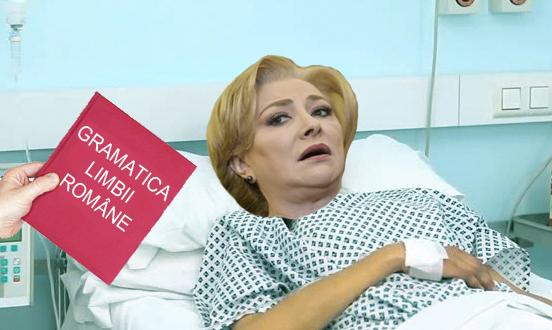 Alertă: Viorica Dăncilă a văzut o carte și a leșinat!