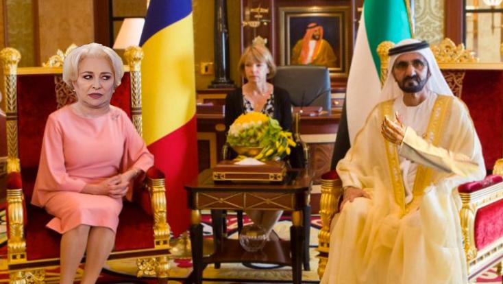 Șeicul Mohammed bin Rashid Al Maktoum și-a făcut cruce când a auzit-o pe Viorica vorbind!