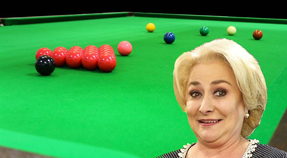 """Veorica crede că la snooker ar trebui folosite doar ouăle roșii: """"Alea vopsite galben, verde, roznu e tradiționale"""""""
